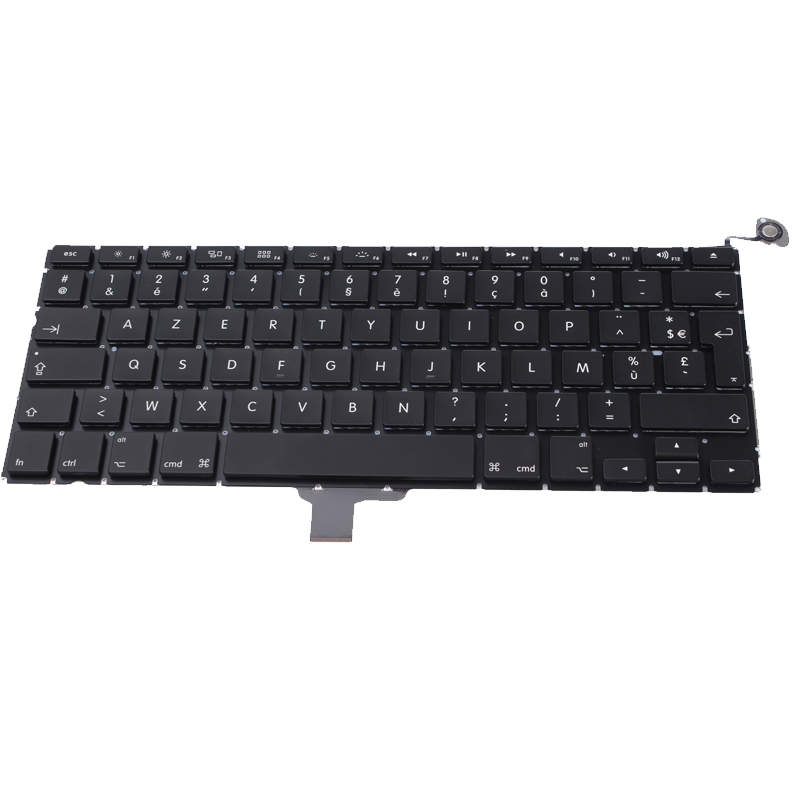 clavier azerty fr french france apple macbook pro 13. Black Bedroom Furniture Sets. Home Design Ideas